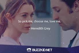 Grey's Anatomy Love Quotes Simple 48 Grey's Anatomy Quotes BuzzKidnet