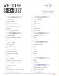 Simple Wedding Planning Checklist Excel Couple Basic Template