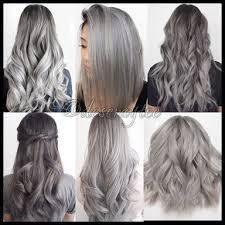 Ash Grey Hair Hair Styles Hair Color Grey Ombre Hair