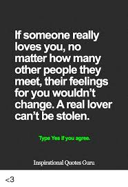 Inspiring Quotes About Love Impressive If Someone Really Loves You No Matter How Many Other People They