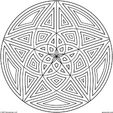 Small Picture Coloring Pages of Cool Designs Circles Page 3 of 5 Coloring