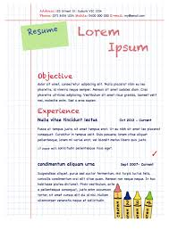 Resume Resume For Child Care