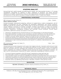 analyst resume example augustais - Systems Analyst Resume