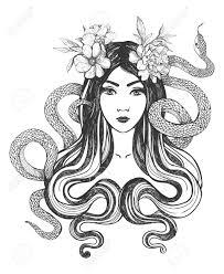 Femme Serpent Banque D Images Vecteurs Et Illustrations Libres De