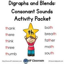 There are three worksheets for each of the featured phonemes in the lesson. Digraph Th Consonant Sound Activity Packet And Worksheets By Kp Classroom