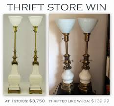 librarian tells all thrift win vintage stiffel lamps and a wor