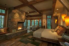Bedroom : Simple Log Home Master Bedrooms Home Style Tips ...