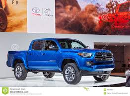 Toyota Tacoma 2015 Detroit Auto Show Editorial Photography - Image ...