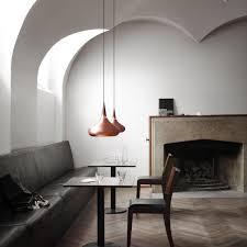 oriental pendant light in the dining area