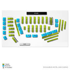 Excalibur Seating Chart The Australian Bee Gees Wed Jan 1 2020 Excalibur Hotel