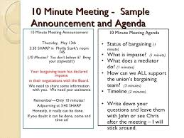 Meeting Announcement Template Sample Letter Meeting Announcement Job Application Letter