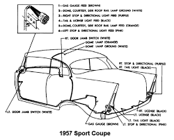 body wiring diagram for 1957 chevrolet passenger car sport coupe 1957 Belair Taillight Wiring Diagram body wiring for 1957 chevrolet passenger car sport coupe