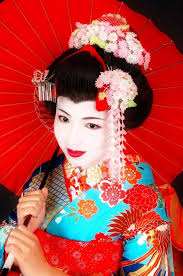 authentic geisha makeup