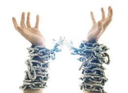 Image result for breaking out of chains