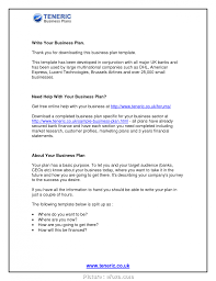 6 Perfect Professional Business Plan Layout Photos Usa