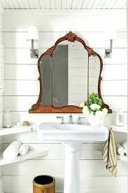 bathroom pedestal sink storage spots to sneak in a little more shelf storage under pedestal sink