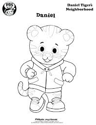 Daniel Tiger Characters Coloring Pages Tag Daniel Tiger Coloring