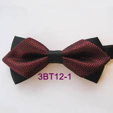 African American Bow Tie Designers Brand New Coachella New Design Black Burgundy Geometric Diamond Two Tone Adjustable Adult Bowtie Tuxedo Bow Tie Unisex Butterfly Pre Tied Green Tie
