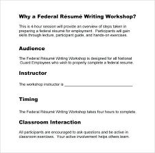 Military Resumes Writers Federal Resume Writing Services Unique