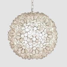 inspirational worlds away jupiter capiz shell floral pendant large traditional for lotus flower chandelier lotus lotus flower chandelier n97