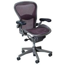 aeron office chair used. herman miller aeron used size b task chair, garnet office chair