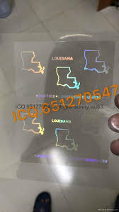 Anti-counterfeiting china Mississippi Hologram amp; Louisiana Printing State Products La Overlay Paper Manufacturer - Packaging