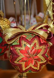 44 best My Quilted Ornaments images on Pinterest | No sew ... & No sew quilted ornament Adamdwight.com
