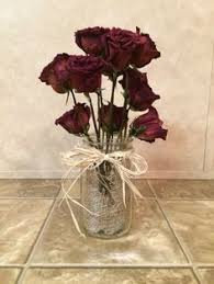 Dried Valentines Roses Once your flowers start to die hang them upside down  until they are
