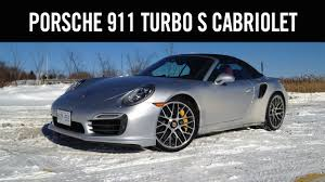 2014 Porsche 911 Turbo S Cabriolet Review - YouTube