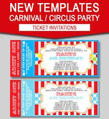 Carnival Birthday Invitations Carnival Theme Party Invitations Capriartfilmfestival