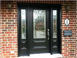 black front door with glass panels inspiration idea black glass front door with black wooden front