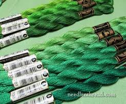 Dmc Pearl Cotton 5 Green Green More Green