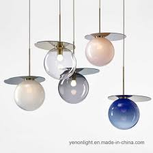 china grant glass shade hanging lamp
