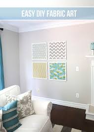 >diy fabric wall art ideas and inspirations view in gallery coordinating fabric wall art diy