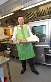 could you join the army of hospice volunteers martin tideswell yours truly in the kitchen at the dougie mac hospice