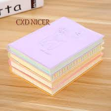 extra thick diary plum deer small notebook 100 page graffiti soft cover pockets notepad school supplies gift dd1647 thick diary small notebook pocket
