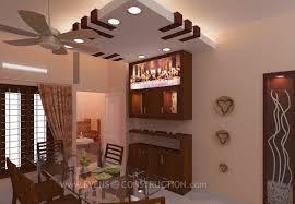 Dining Crockery Designs Evens Construction Pvt Ltd Dining Room With Crockery Shelf