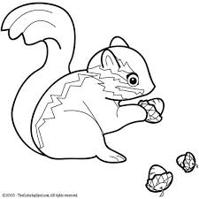 Small Picture Chipmunk 1 Free printable coloring pages for kids Light Up
