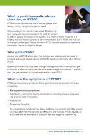disorder essay post stress traumatic