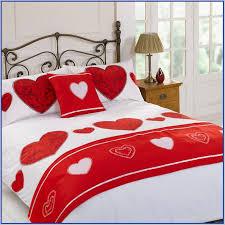 Heart Design Bed Sheets