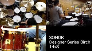 Sonor Designer Series Sonor Designer Series Birch 14x8