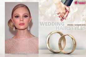 Wedding Hairstyles Springsummer 2016 From The Catwalks Hair