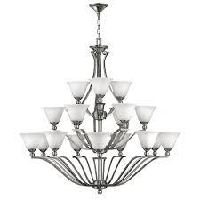 bolla 3 tier 18 light chandelier by hinkley lighting