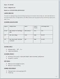 Format For Resume Simple Resume Format Resume Format Download Doc
