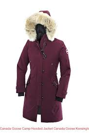 Canada Goose Camp Hooded Jacket Canada Goose Kensington Parka Women Purple  2506l