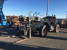Ingersol Rand Forklift Ingersoll Rand Vr 843c 4x4 Telescopic Forklift Lot Temp3206