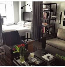 Amazing Studio Apartment Idea For Guy I Like The Set Up Vibe Of Room Fascinating Decorating One Bedroom Apartment Set