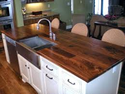 wooden counter tops face grain walnut island top with farm sink and finish ikea wood countertops wooden counter tops