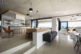 open kitchen living room designs. Image Credit: SAOTA Architects Open Kitchen Living Room Designs