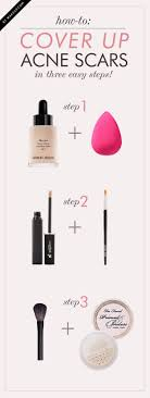 cool diy makeup hacks for quick and easy beauty ideas acne cover up how